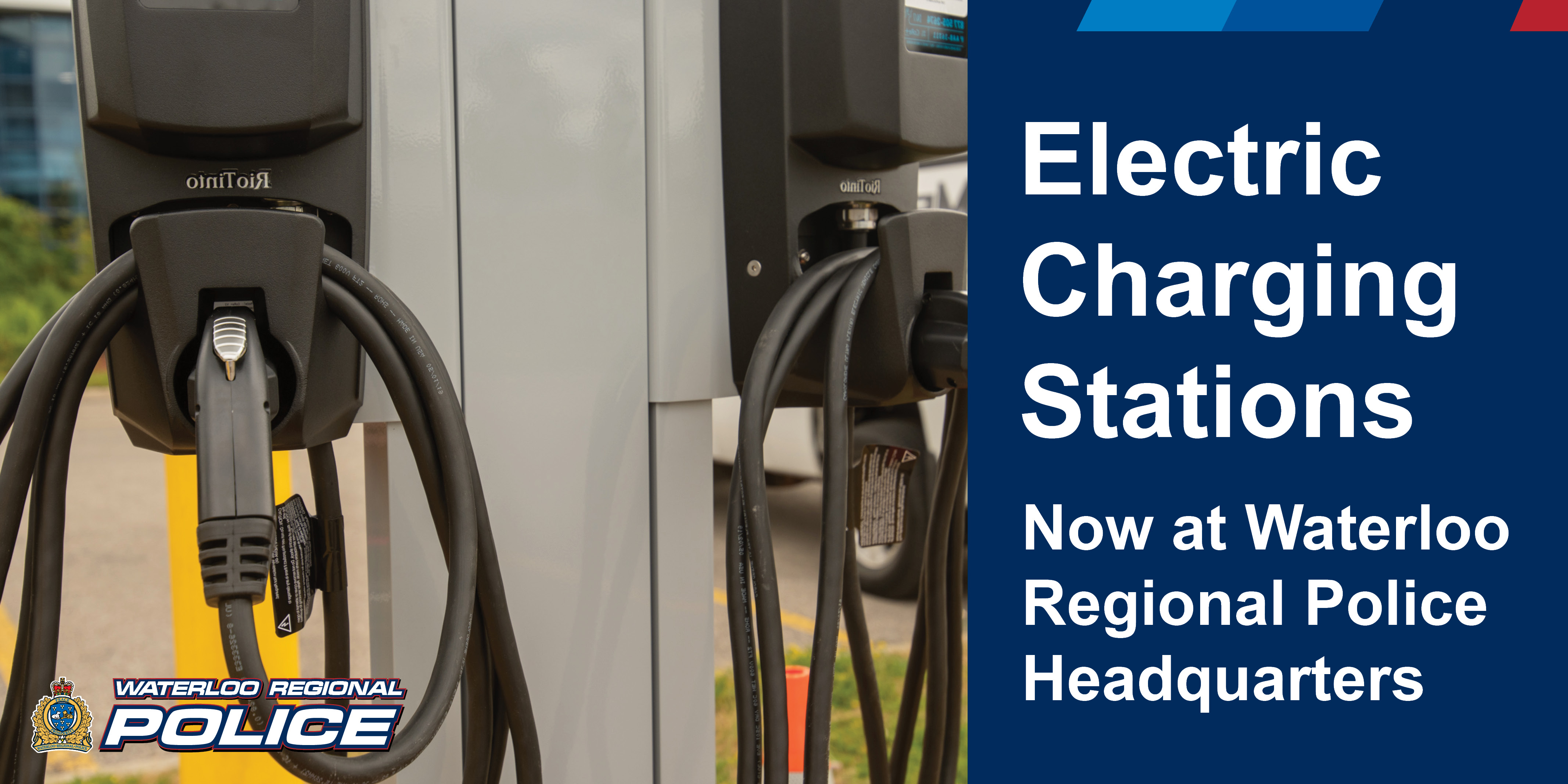 Electric Charging Stations - Now at WRPS