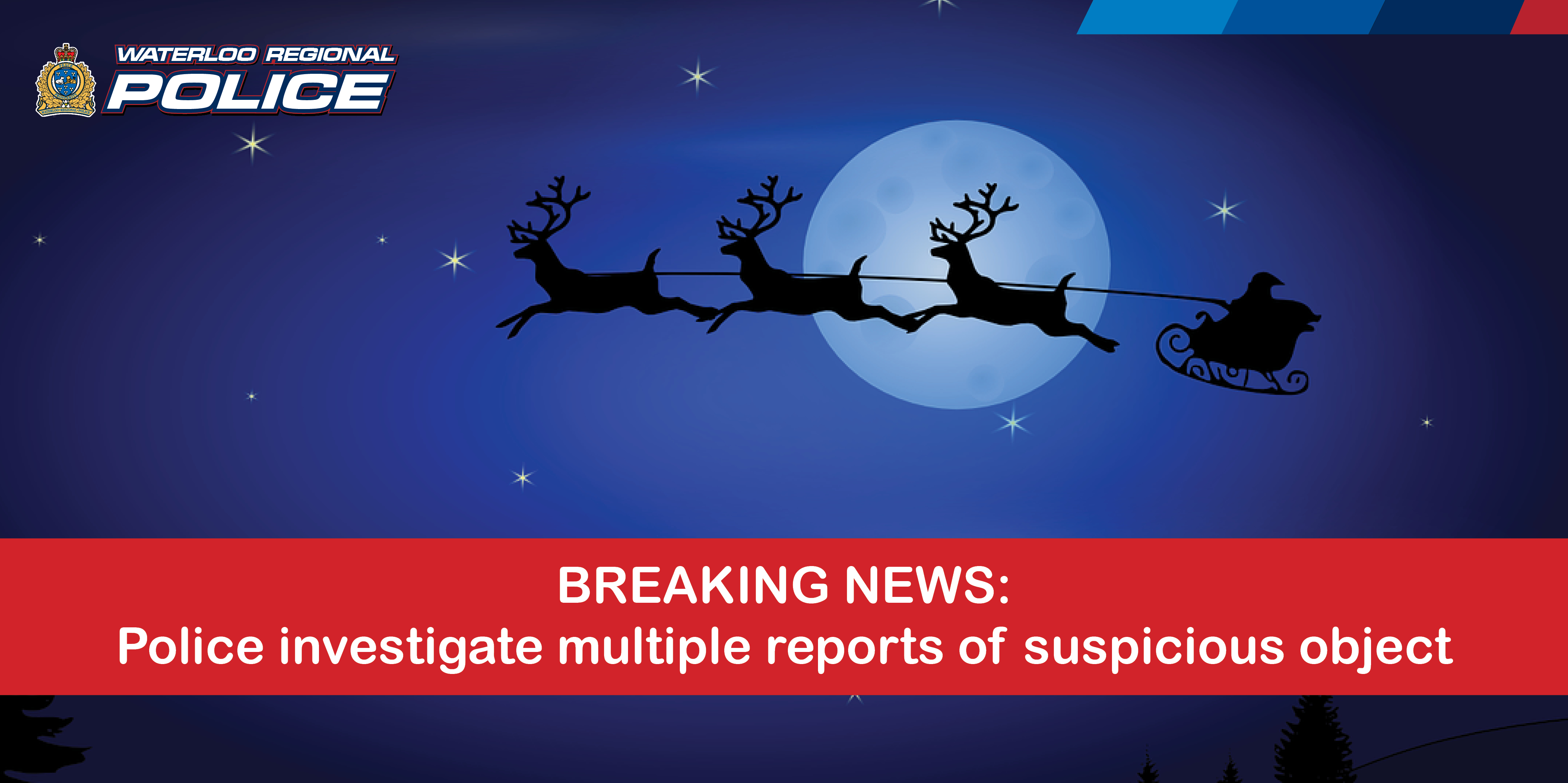 Breaking News: Police investigate multiple reports of suspicious person