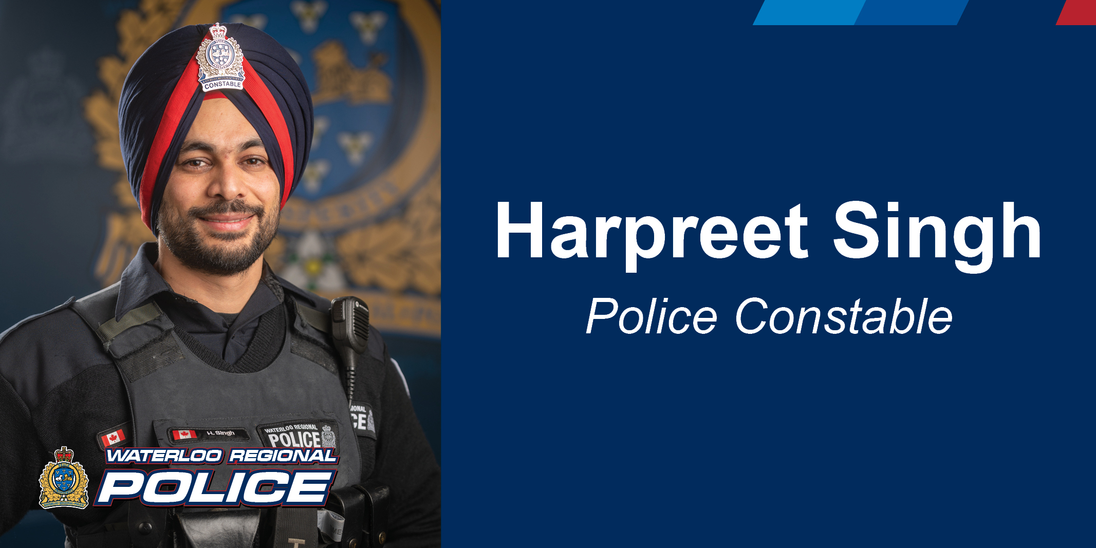 Constable Harpreet Singh