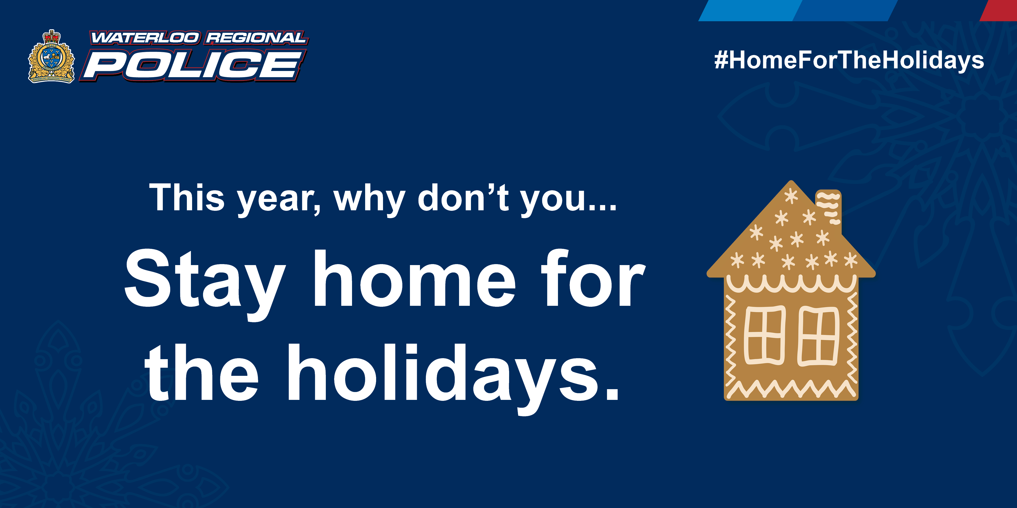 This year, why don't you stay home for the holidays